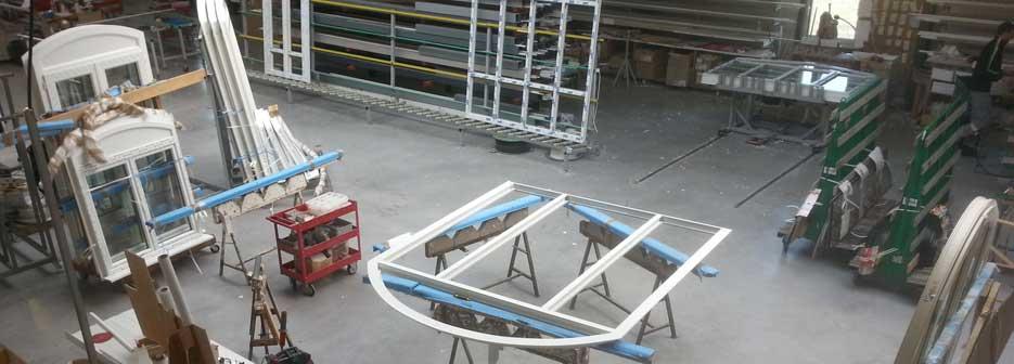 montage vitre sur cadre pvc