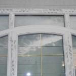 impose avec porte surbaissée vitrée