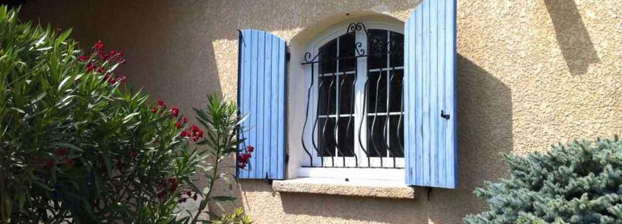 fabrication de fenêtre courbe surbaissée