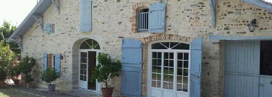 fabrication porte fenêtre maison ancienne