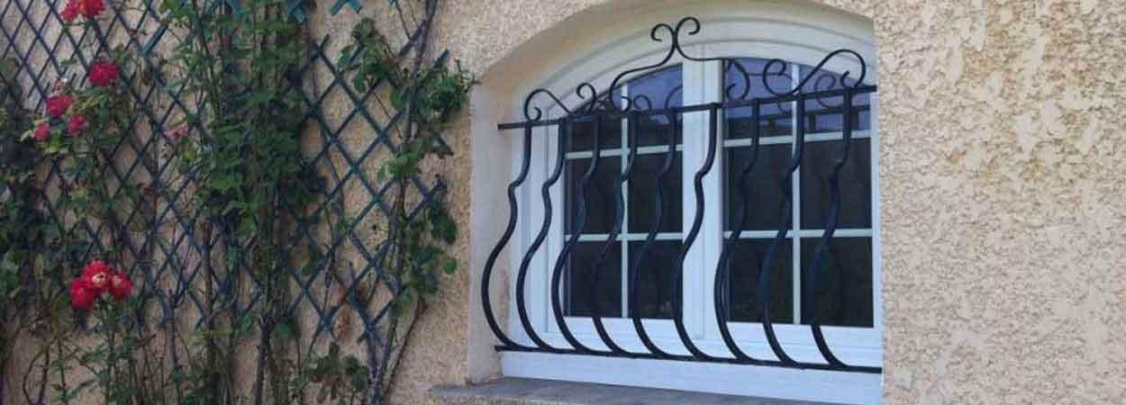 fenêtre à la française en pvc 2 vantaux