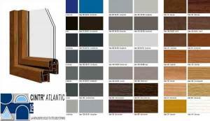 gamme couleur menuiserie pvc plaxé