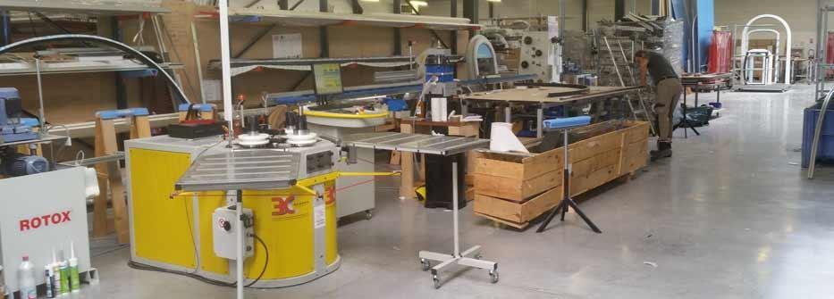 zone atelier cintrage aluminium