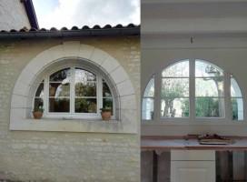 Fenêtre de maison Charentaise